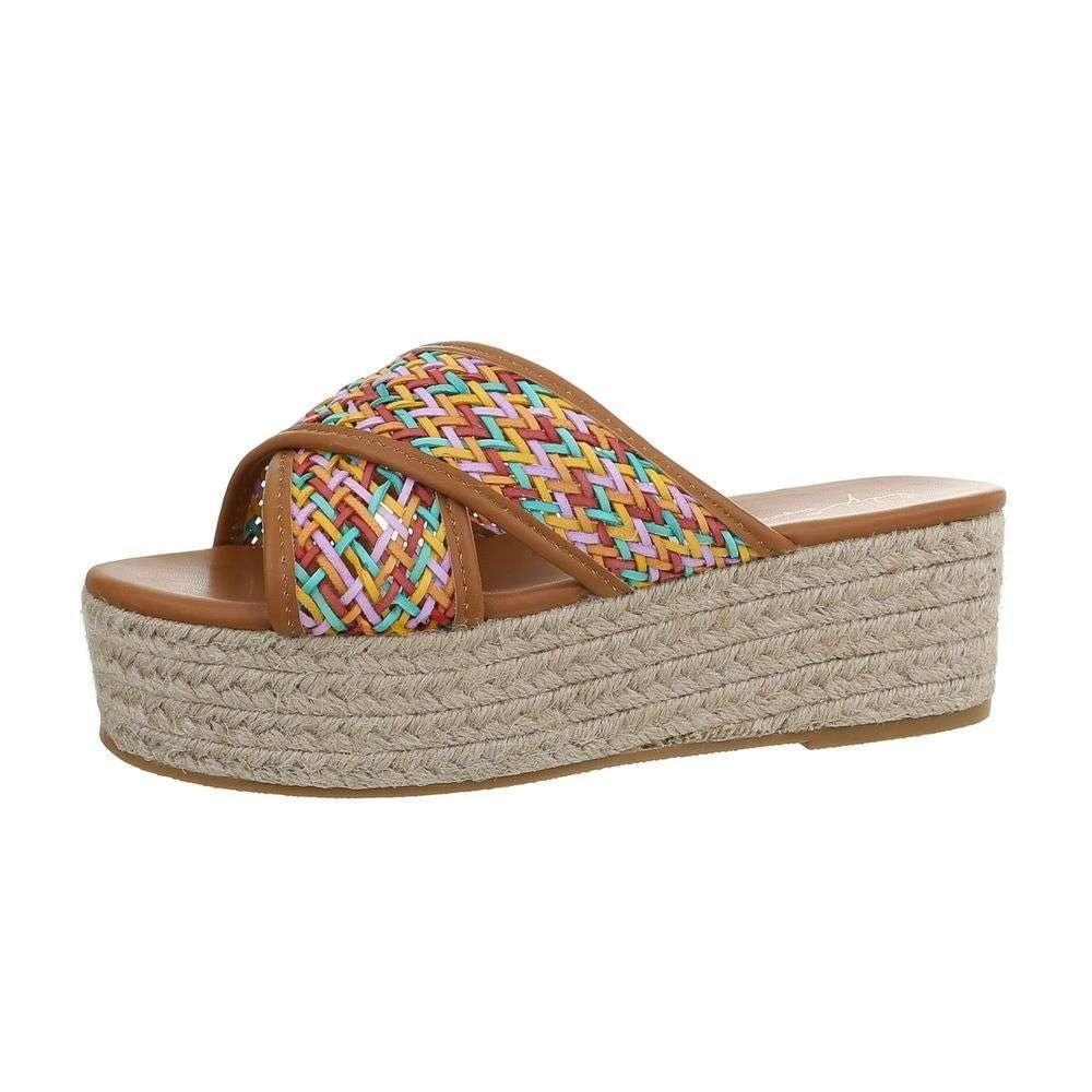Dámske papuče na platforme - 41 EU shd-opa1100ca