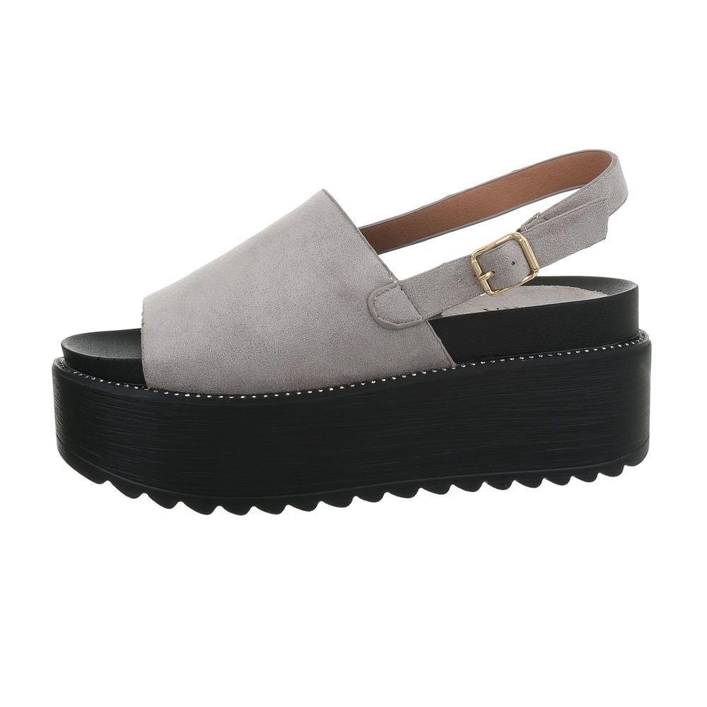 Dámske sandále na platforme - 39 EU shd-osa1332gr