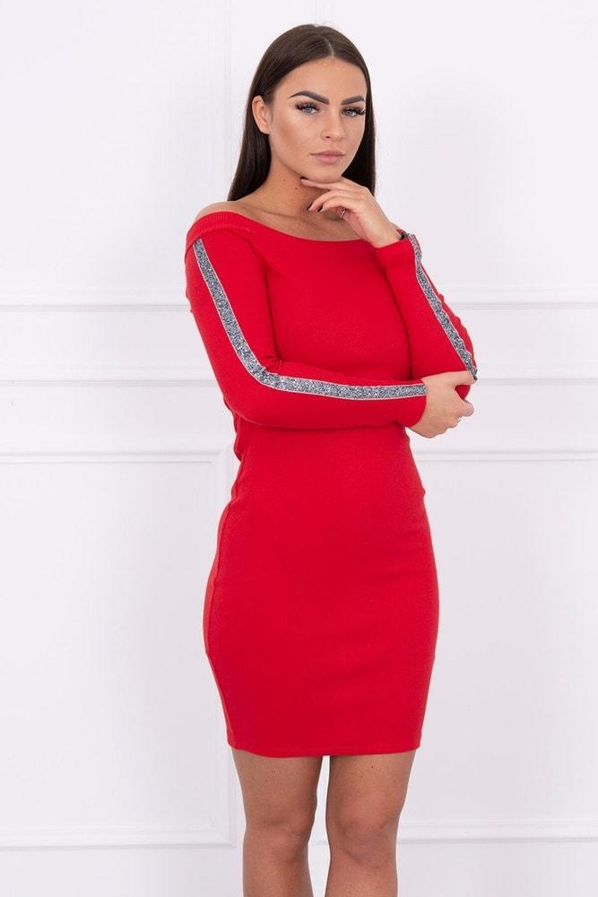 Červené dámské šaty - S/M Kesi ks-sa5335re
