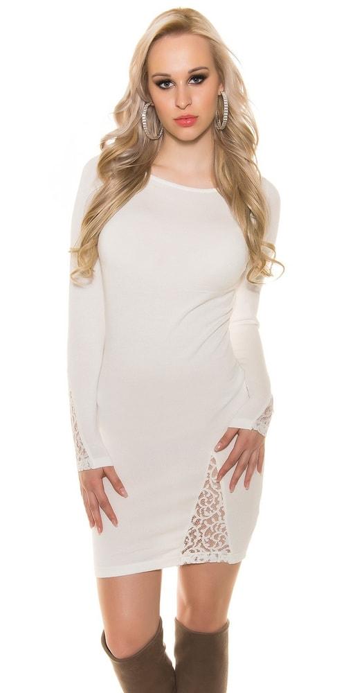 Elegantné úpletové šaty Koucla in-sv1353cr