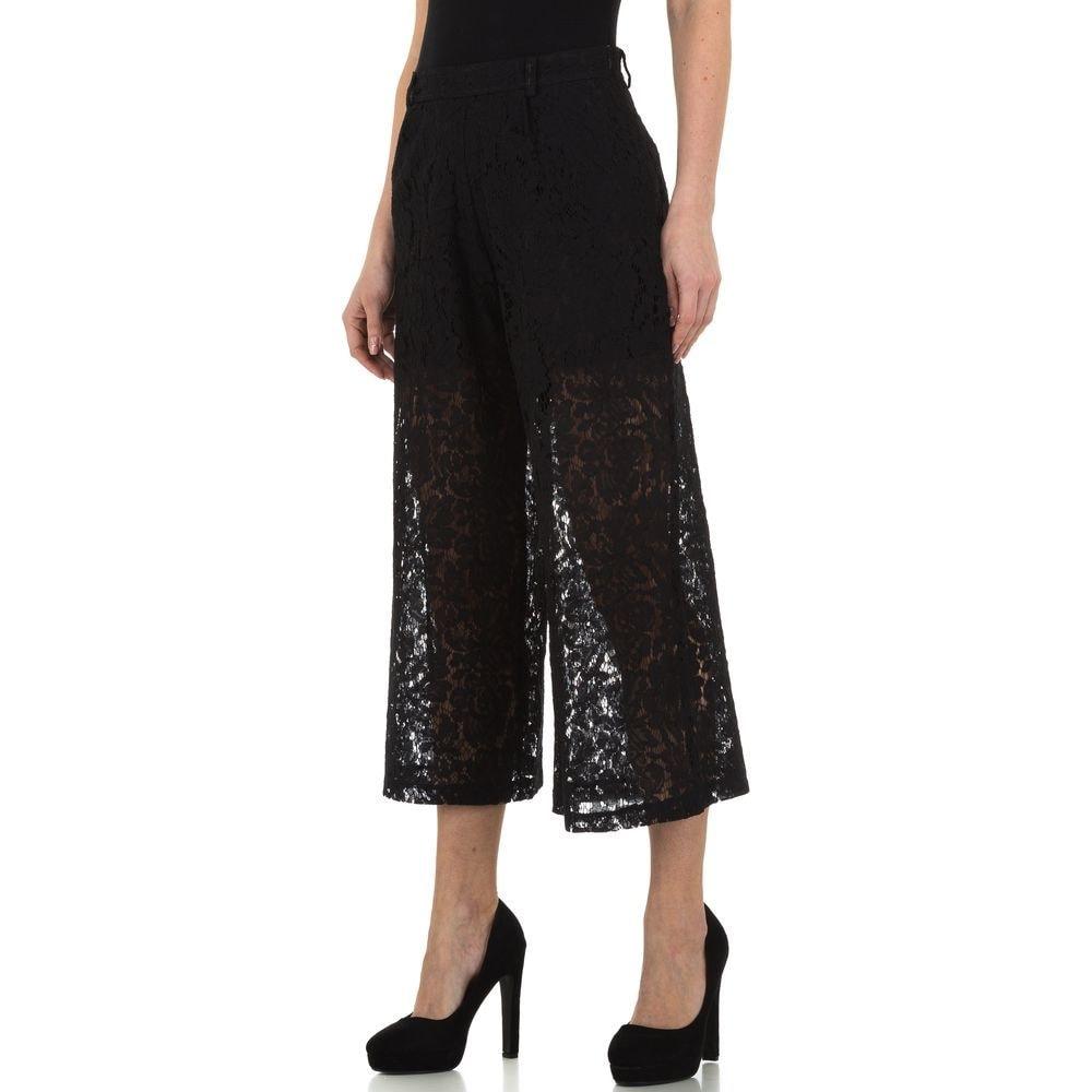 Čipkované dámske nohavice - S/36 EU shd-ka1121bl