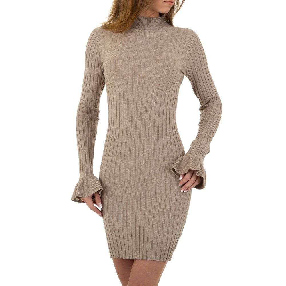 Mini šaty z úpletu EU shd-sat1127be