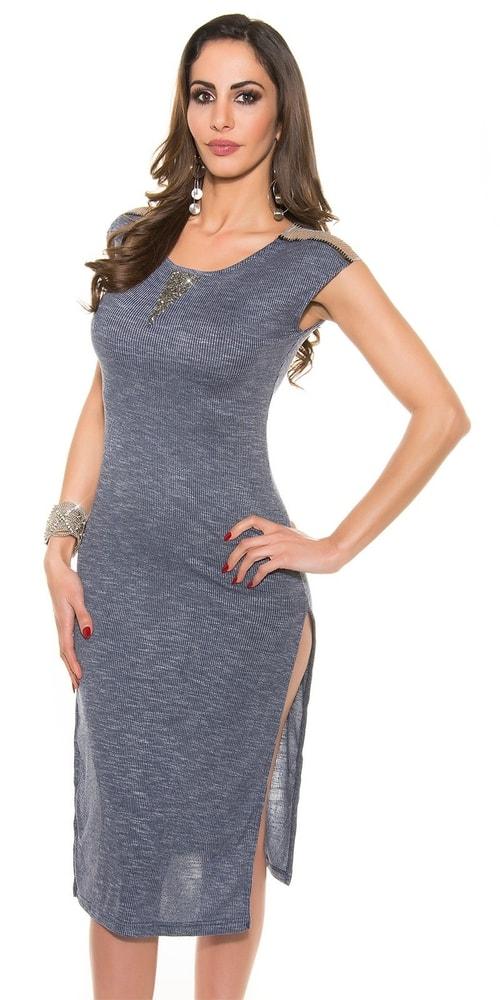 Dámske šaty modré Koucla in-sat1267mo