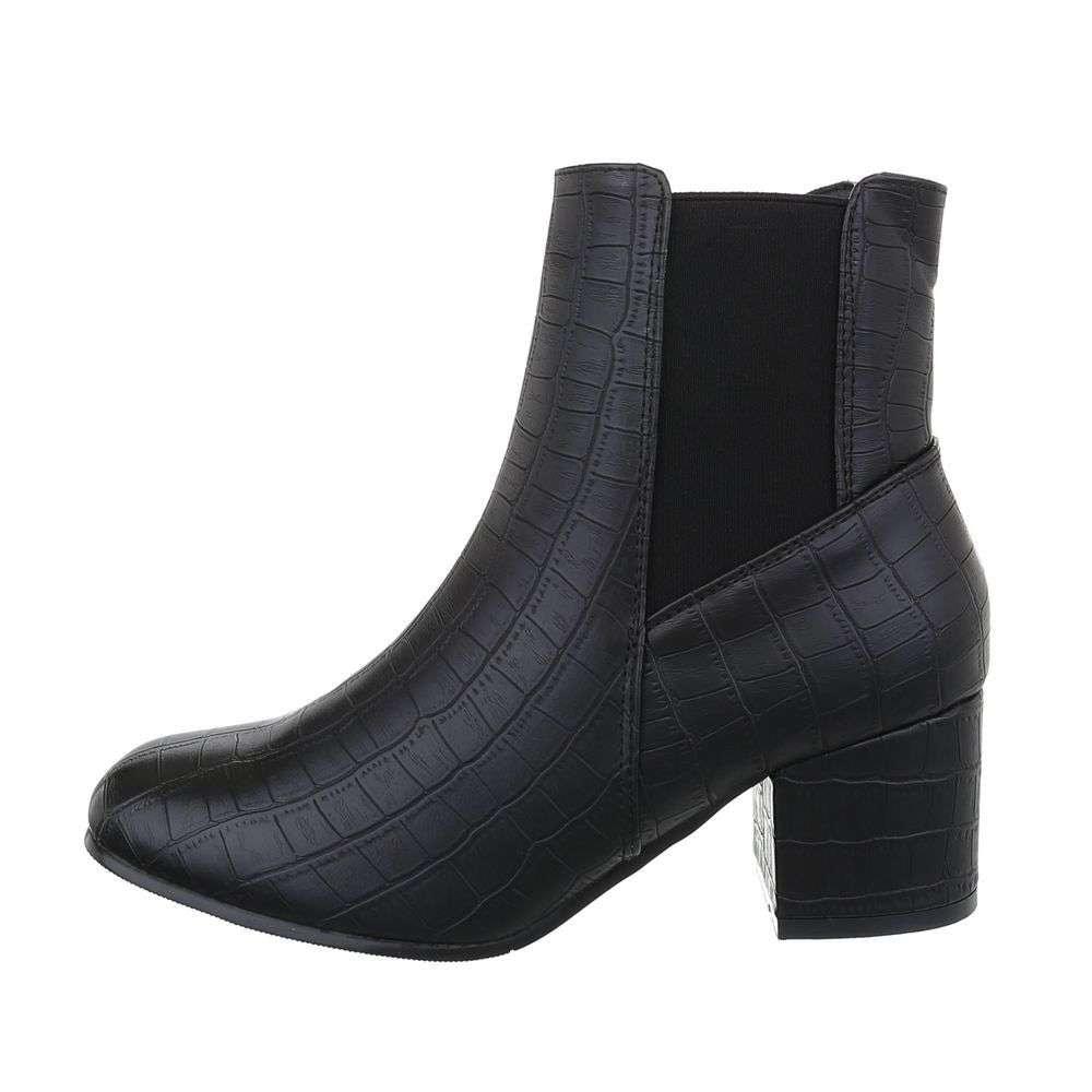 Čierne členkové topánky - 37 EU shd-okk1224bl