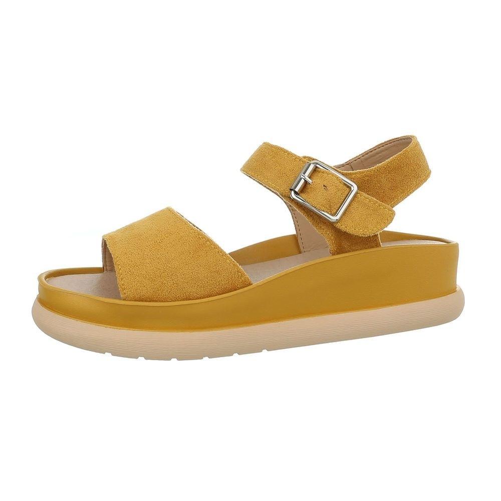 Dámské sandály žluté - 36 EU shd-osa1130ge