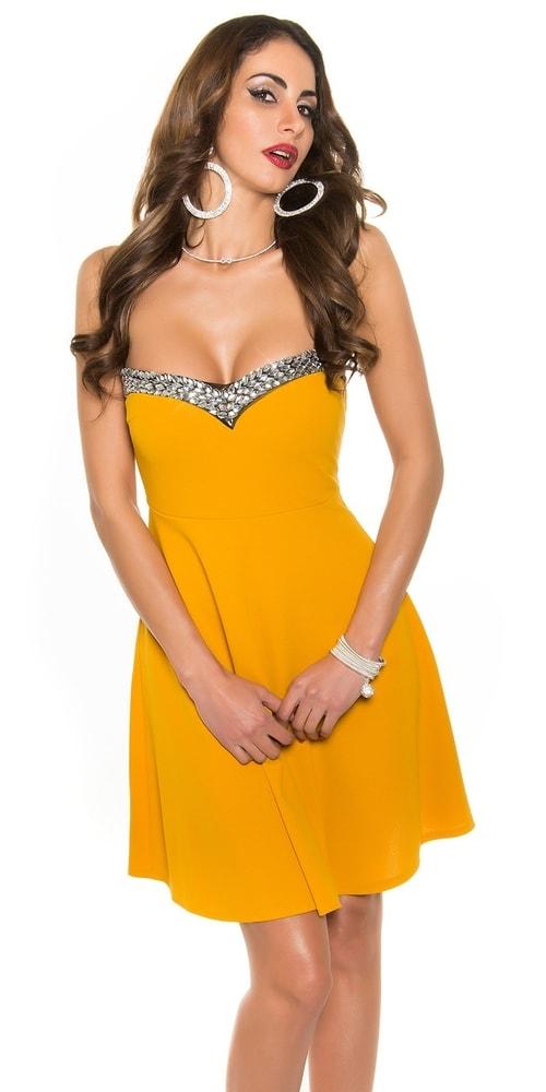 Plesové šaty krátke Koucla in-sat1042se