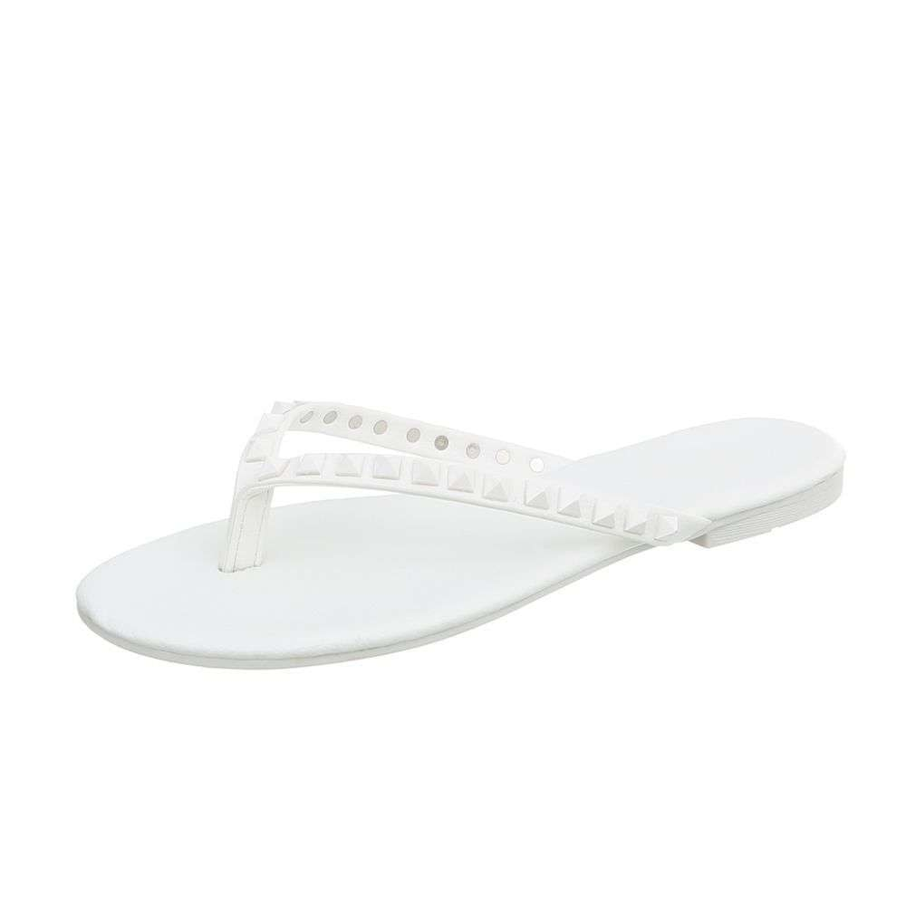 Bílé žabky - 38 EU shd-osa1037wh