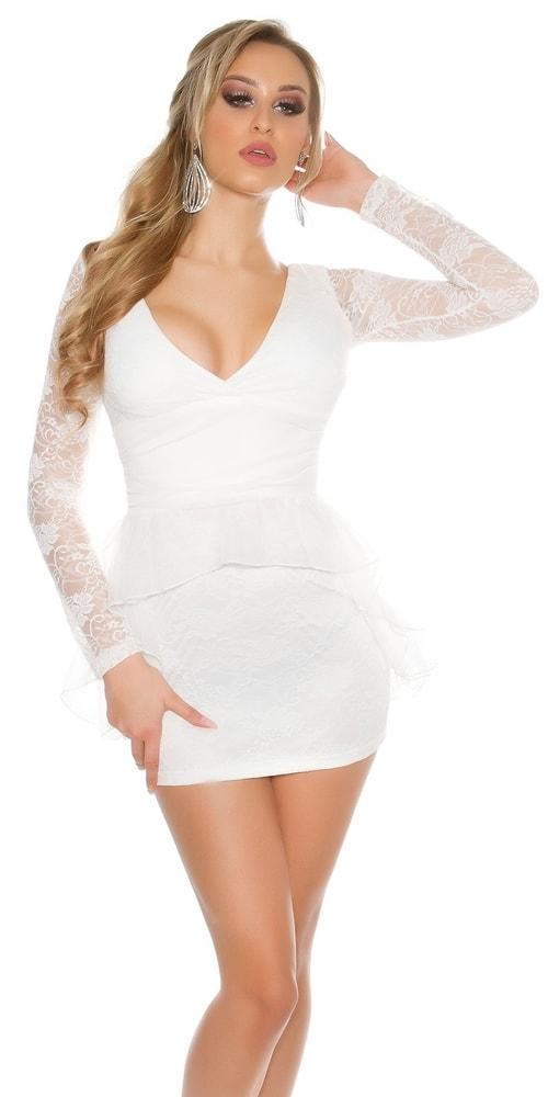 Dámske večerné šaty Koucla in-sat1547wh