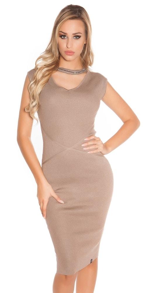 Dámské úpletové šaty Koucla in-sat1581ca