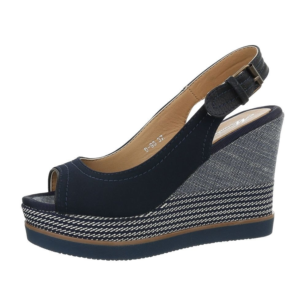 Dámské sandály tmavě modré - 41 EU shd-osa1129tmo