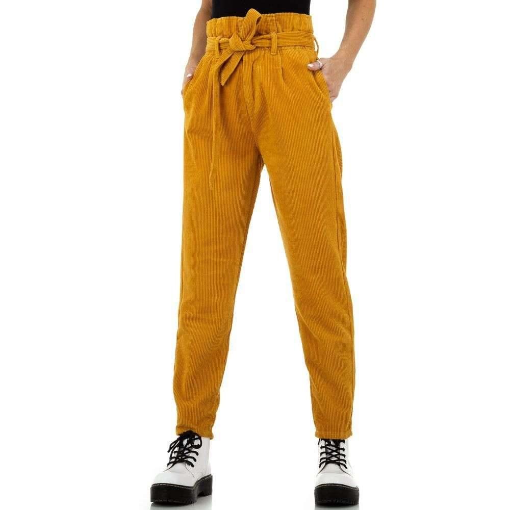 Dámske menčestrové nohavice - L/40 EU shd-ka1154ge