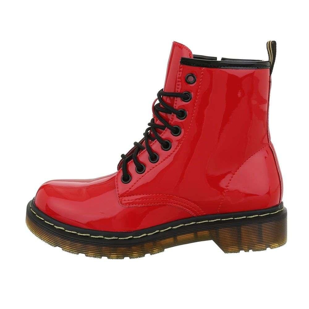 Červená kotníková obuv EU shd-okk1150re