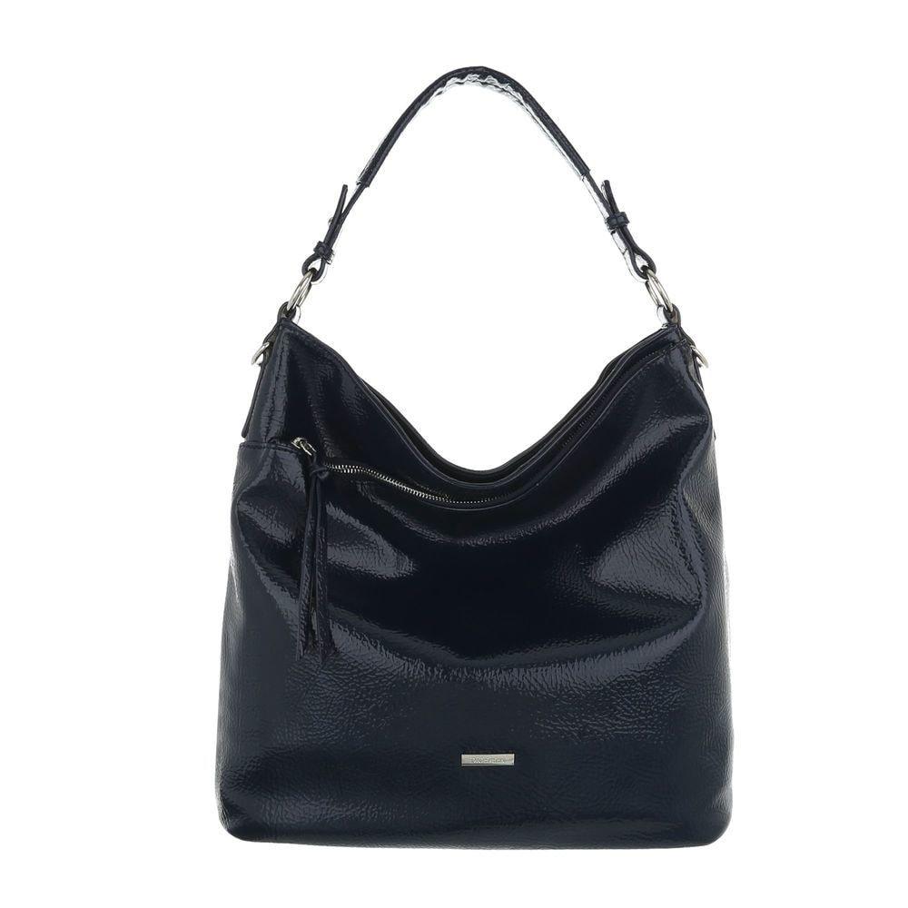 Tmavě modrá dámská kabelka sh-ta1016tm