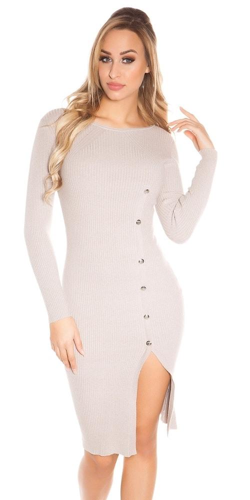 Úpletové dámské šaty Koucla in-sat1589ca
