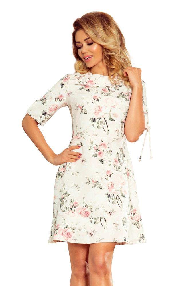 Elegantní letní šaty Numoco nm-sat235-1