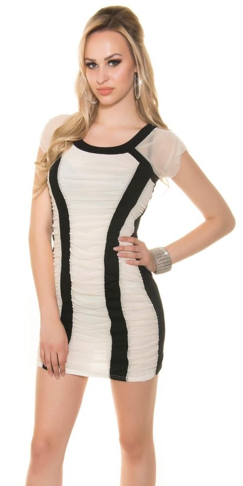 Dámské letní mini šaty Koucla in-sat1604wh