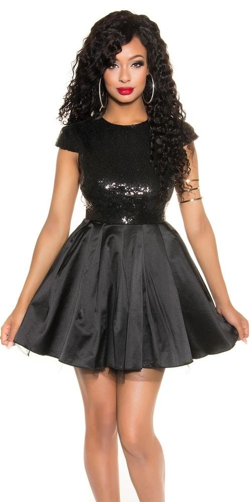 Spoločenské dámske šaty - 36 Koucla in-sat1473bl