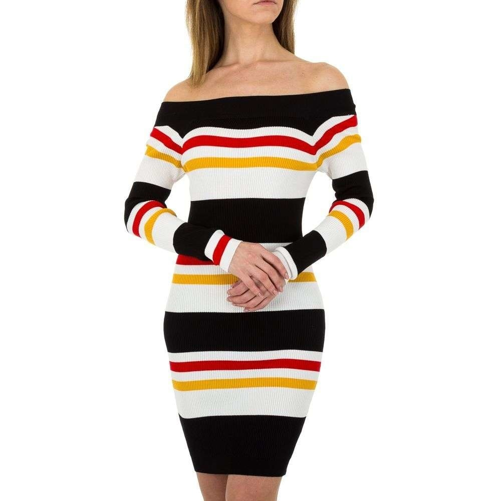 Úpletové dámské šaty EU shd-sat1053bl