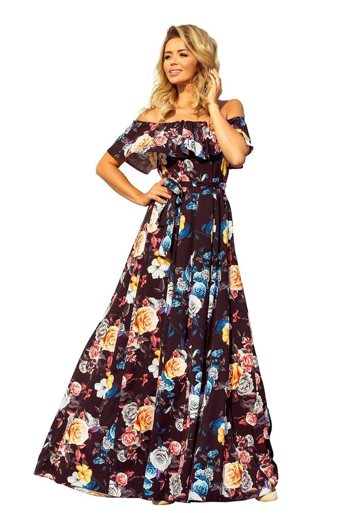 Letní dlouhé šaty - XXL Numoco nm-sat194-3