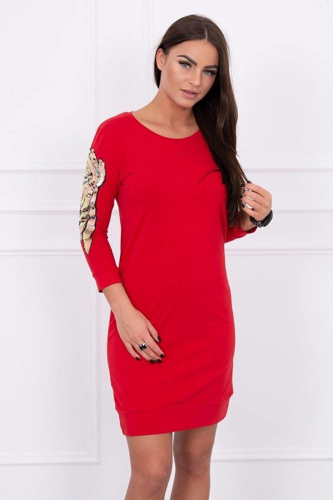 Červené dámské šaty - S/M Kesi ks-sa2475re