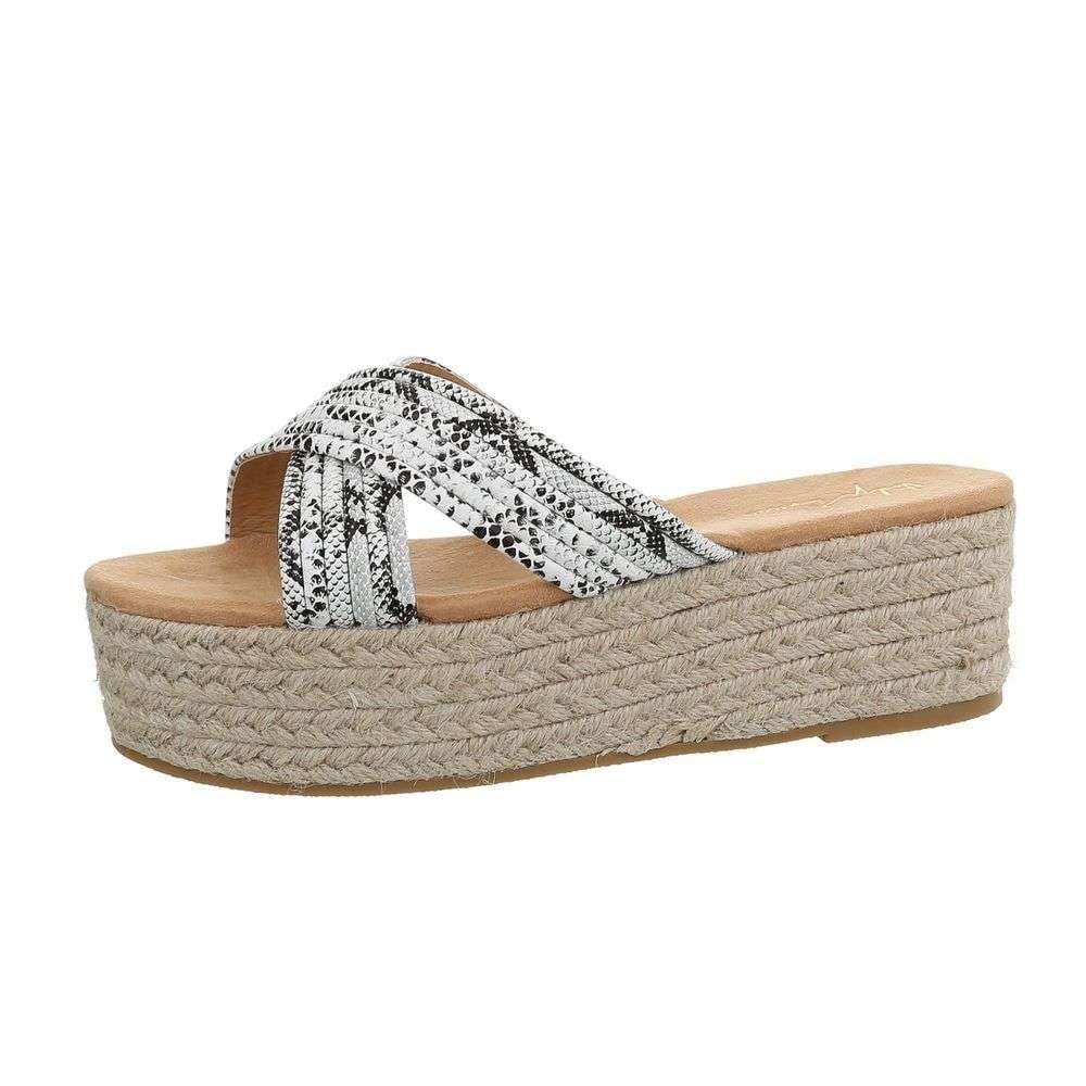 Dámske papuče na platforme - 41 EU shd-opa1114wh