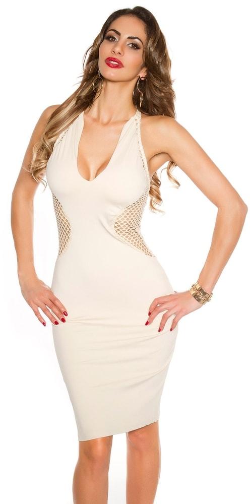 Sexi šaty s čipkou - S/M Koucla in-sat1587be