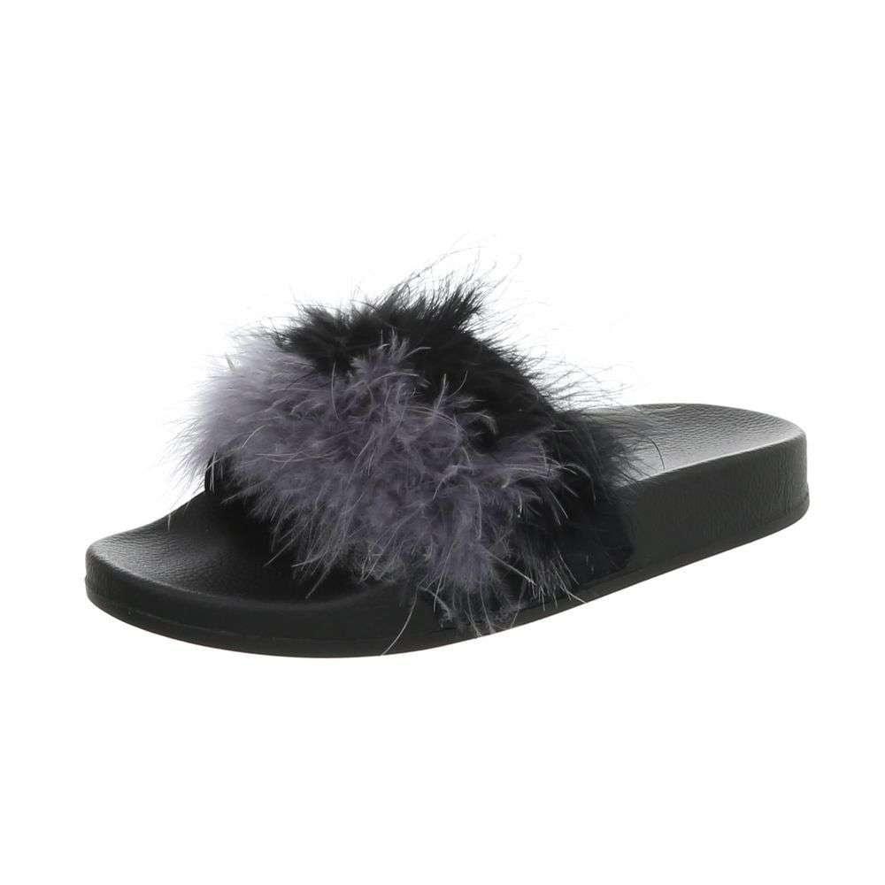 Dámske papuče shd-opa1001bl