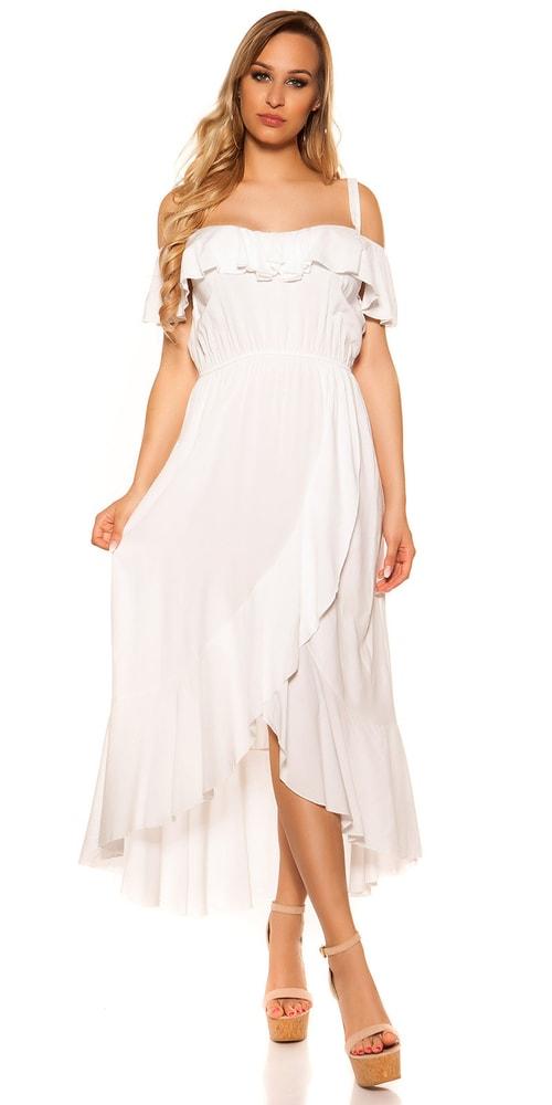Letní dlouhé šaty Koucla in-sat2047wh