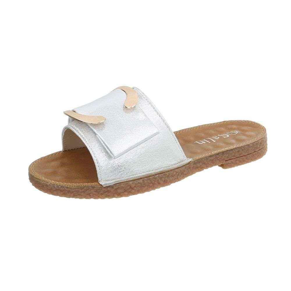 Dámske lesklé papuče - 41 EU shd-opa1010si