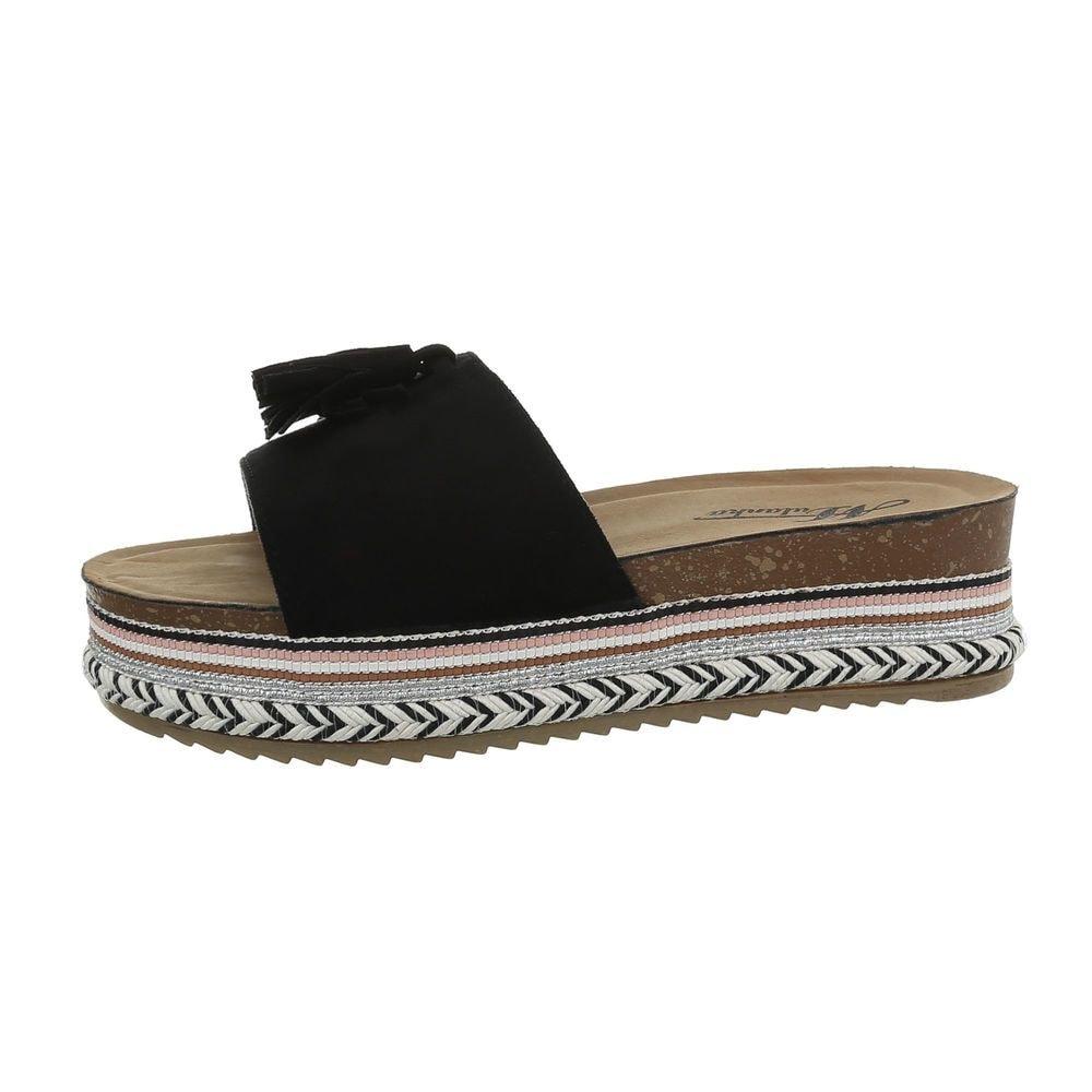 Čierne papuče EU shd-opa1109bl