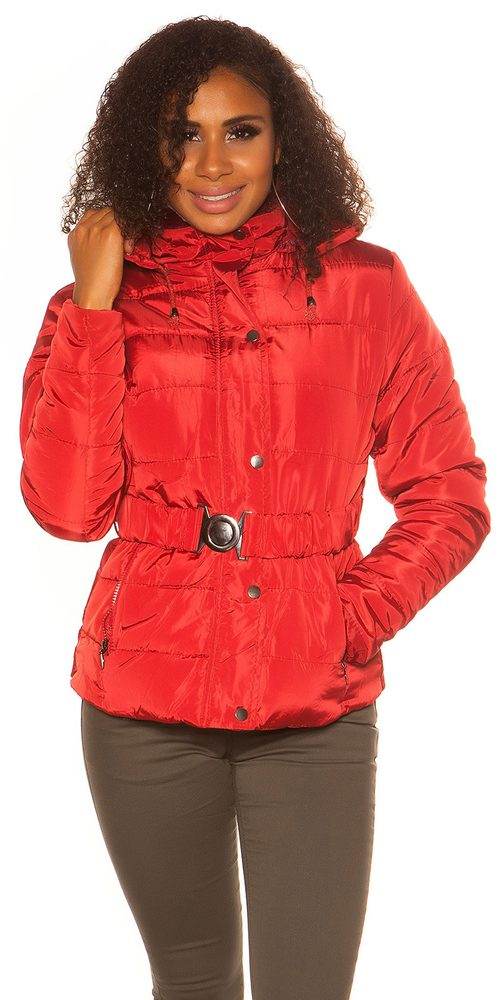 Krátka zimná bunda Koucla in-bu1043re