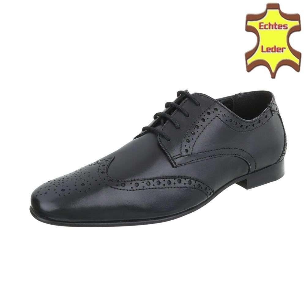 Pánske spoločenské topánky shp-osp1060bl