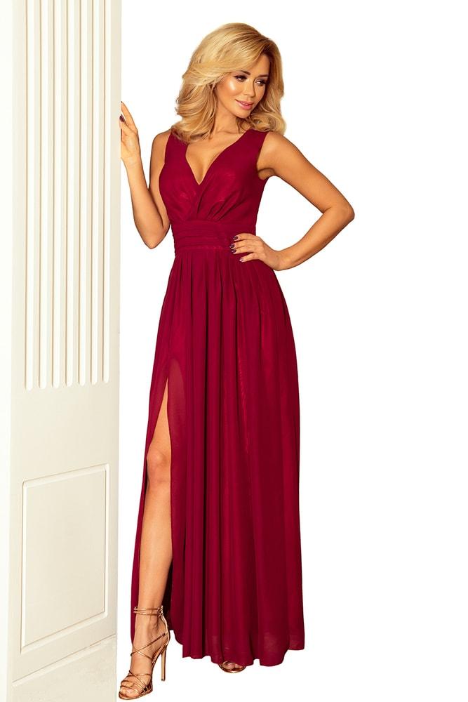 Spoločenské dámske šaty - L Numoco nm-sat166bo
