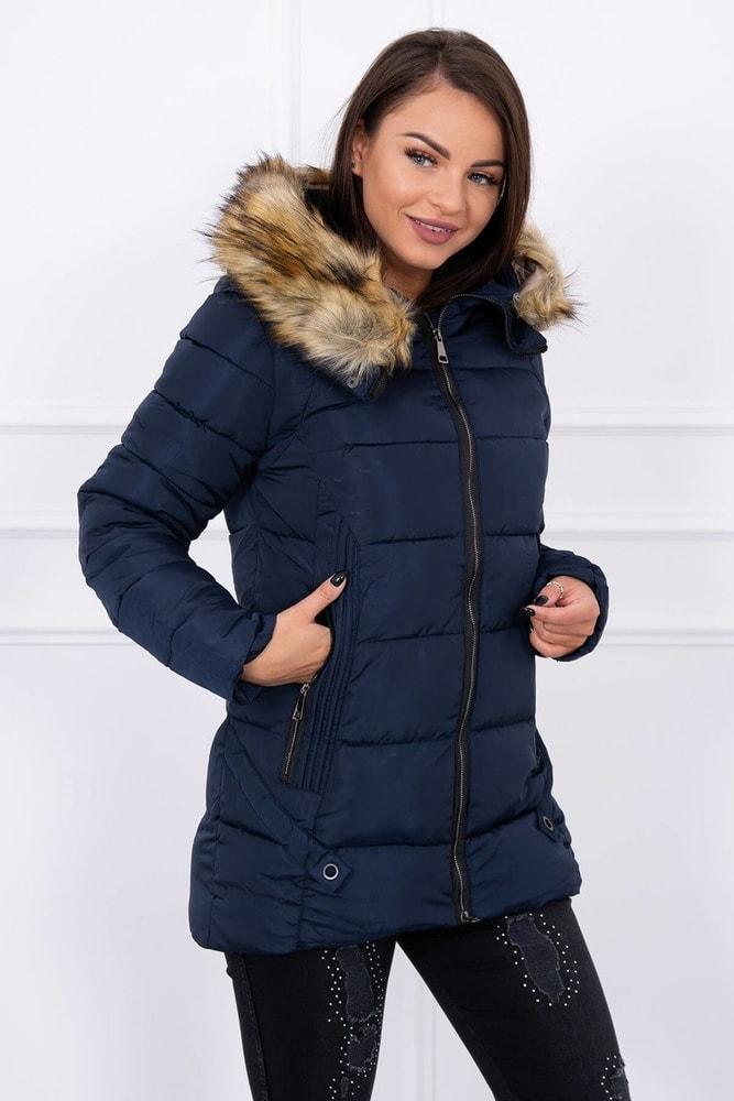 Dámska zimná bunda - L Kesi ks-bu8867tm