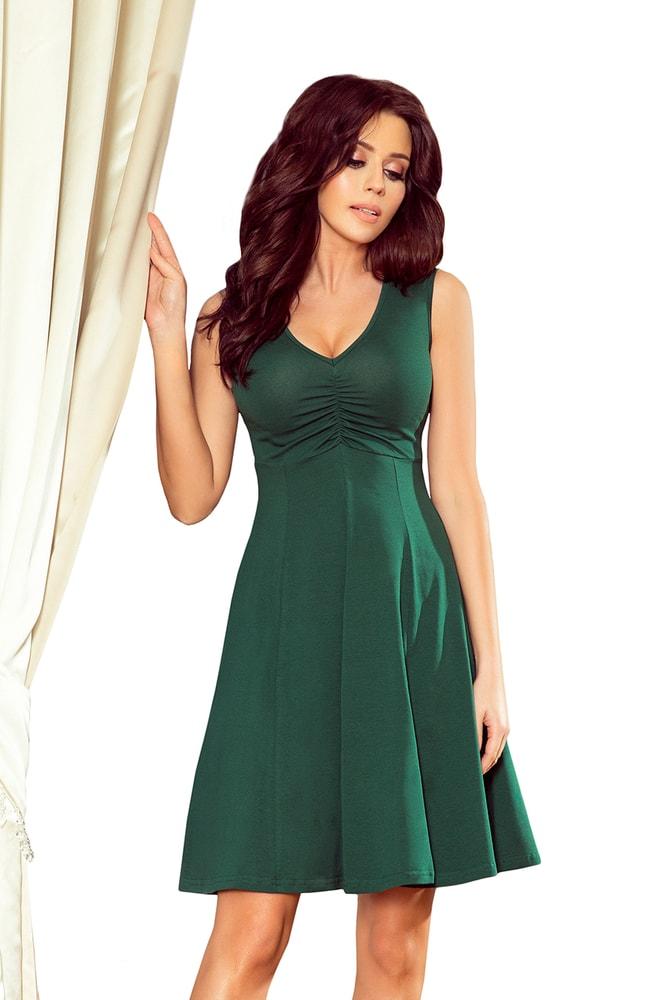 Zelené dámske šaty - M Numoco nm-sat238-2