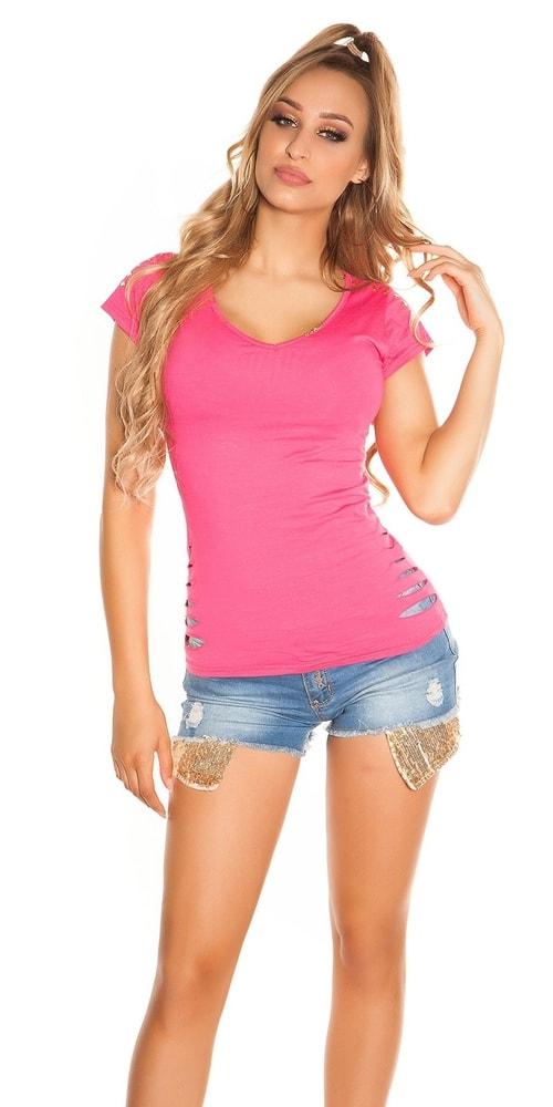 letní dívčí triko Koucla in-tr1113tpi