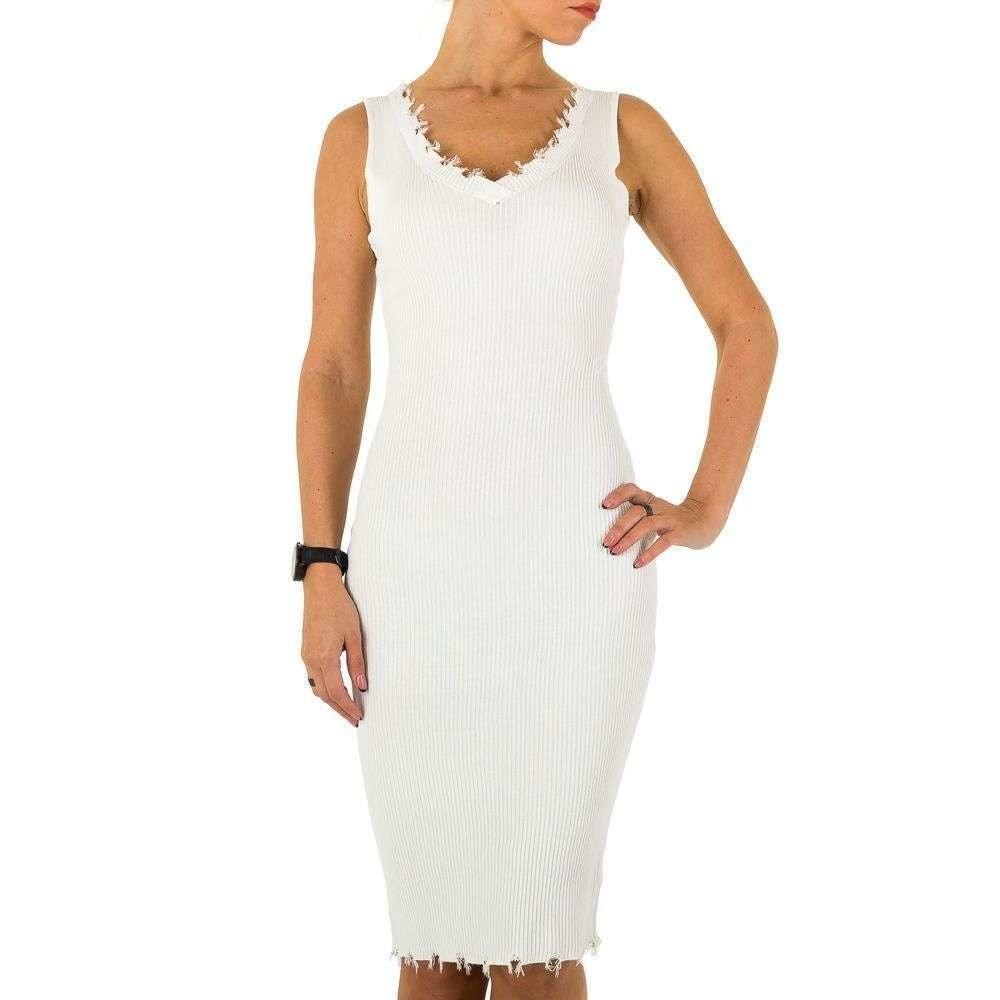 Úpletové šaty shd-sat1042wh