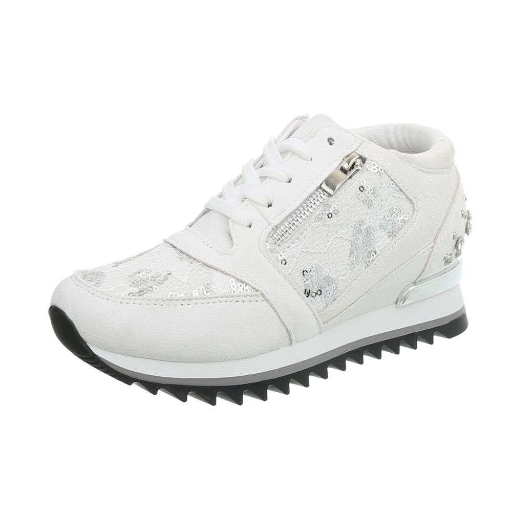 Bílé tenisky kotníkové - 38 EU shd-osn1092wh