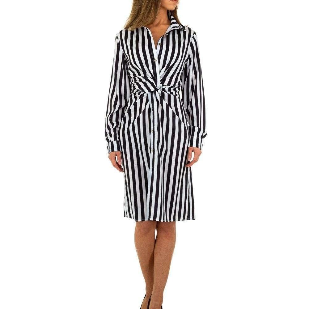 Dámske šaty s pruhmi EU shd-sat1085bw