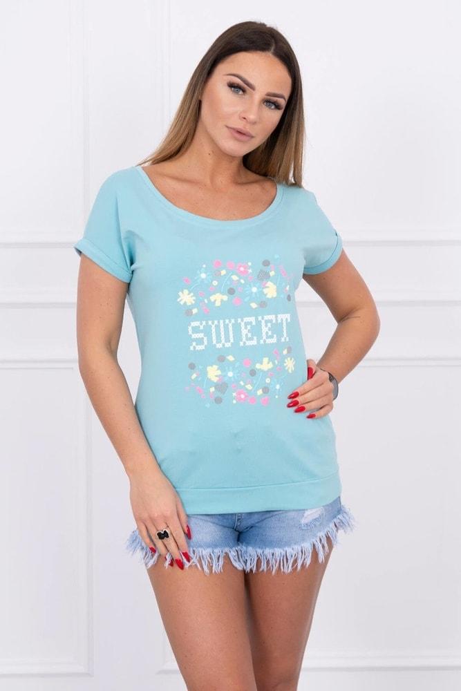 Dámske tričká s potlačou Kesi ks-tr61103tmi