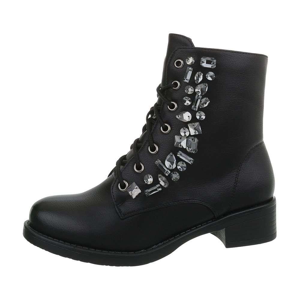 Dámske členkové topánky - 39 EU shd-okk1066bl