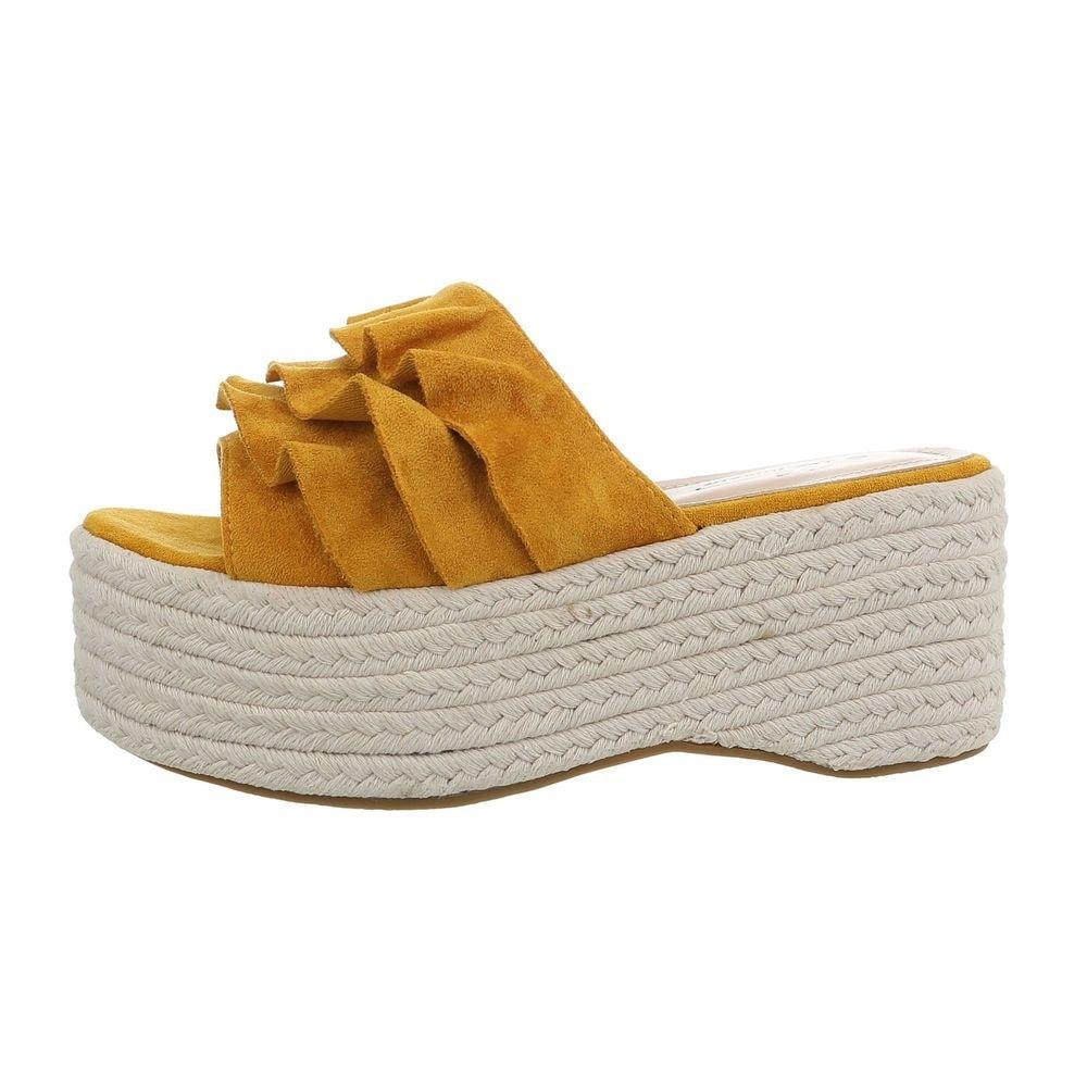 Dámske papuče na platforme - 41 EU shd-opa1116ge