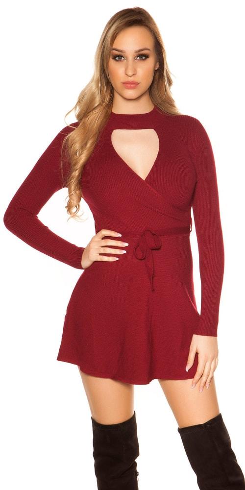 Úpletové dámské mini šaty Koucla in-sat1689bo