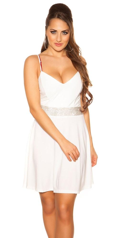 Večerné dámske mini šaty Koucla in-sat2016wh