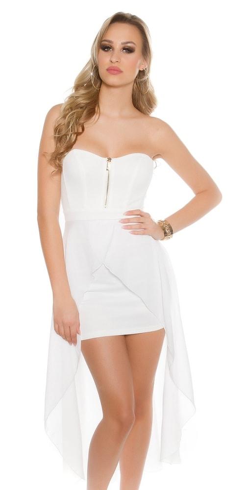 Dámske plesové šaty - L Koucla in-sat1535wh