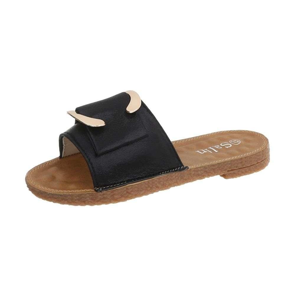 Dámske papuče EU shd-opa1010bl