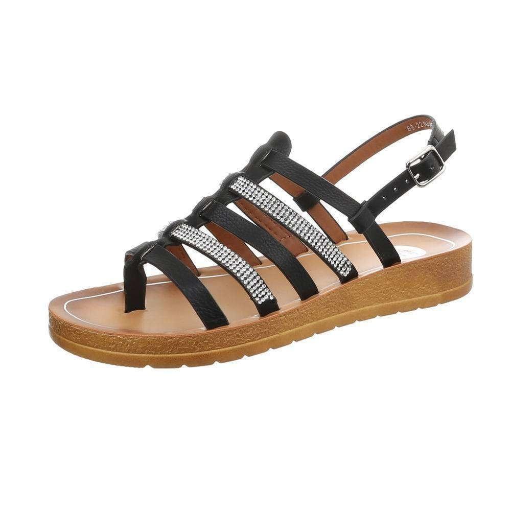 Dámské letní sandály EU shd-osa1043bl