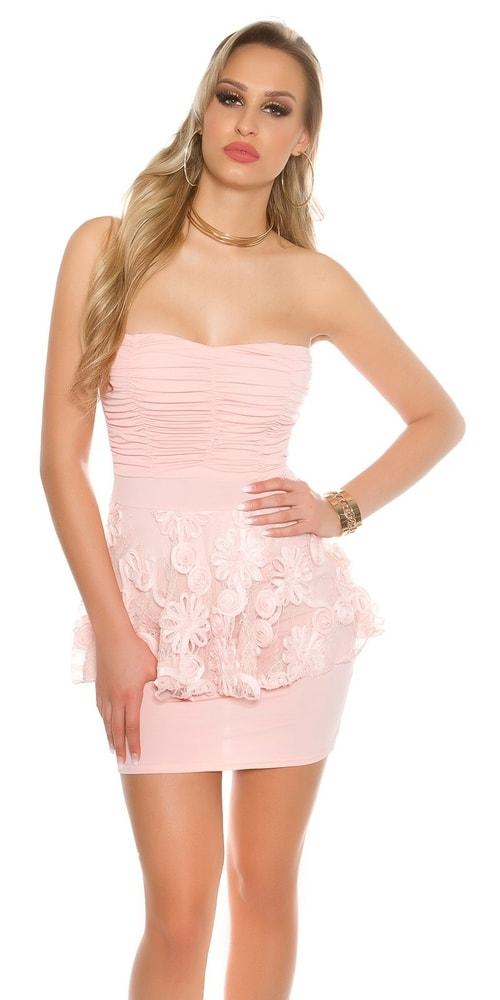 Spoločenské dámske mini šaty Koucla in-sat1606ap