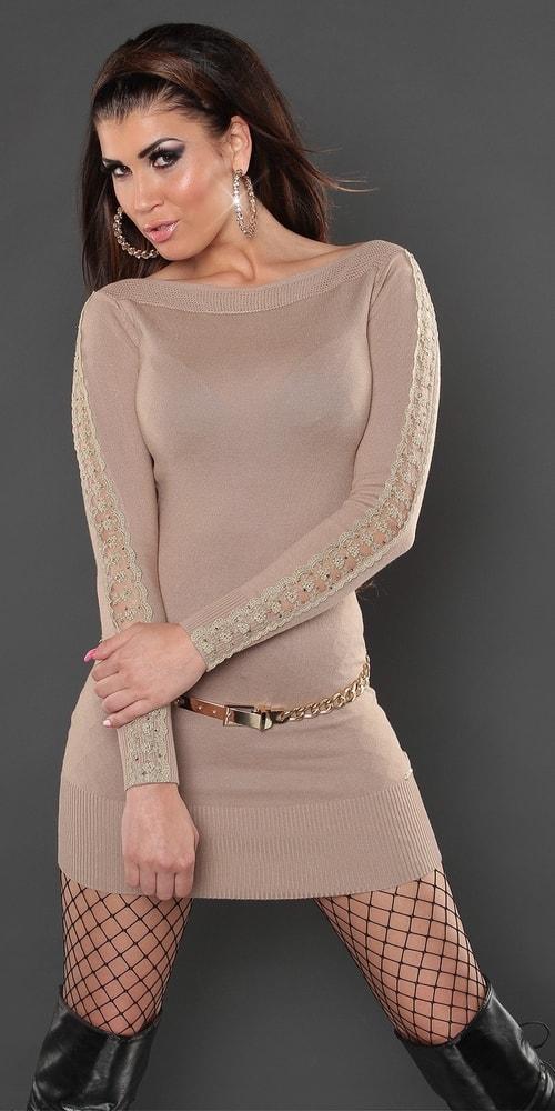 Úpletové šaty Koucla in-sat1167be