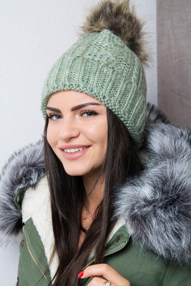 Zimná dámska čiapka Kesi ks-k103ze
